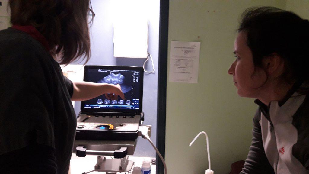 échographie abdominale surrénale
